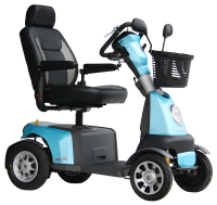 Scootmobiel Excel Galaxy Plus 4 Kite Blue