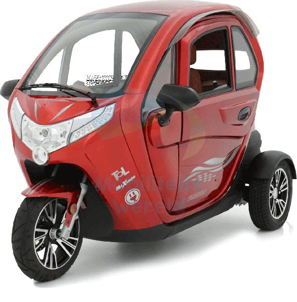 Welp Elektrische brommobiel Vigorous rood kopen?-Mobiliteitswereld EA-31