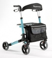 Rollator lightweight Travel Eaze Blue