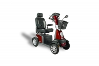 Scootmobiel Galaxy plus 4 20KM per uur Tuscan Red