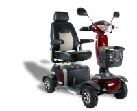 Scootmobiel Excel Galaxy Compact Tuscan Red