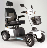 Scootmobiel Excel Galaxy 2 Salt White