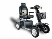Scootmobiel Excel Galaxy II Deluxe 2 midnight black