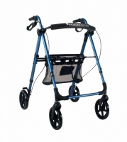 Rollator ExcelCare Roll Eaze blauw