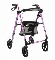 Rollator ExcelCare Roll Eaze paars