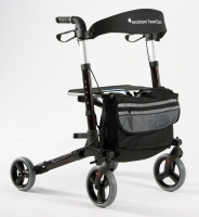 Rollator Excelcare Travel Eaze brown