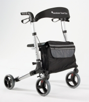 Rollator Travel Eaze silk silver