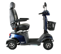 Scootmobiel Excel Galaxy Compact Lightning Blue