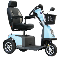 Scootmobiel Excel Galaxy Plus 3 Kite Blue