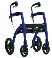 Rollz Motion dark purple rollator rolstoel