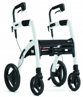 Rollz Motion pebble white rollator rolstoel