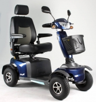 Scootmobiel Excel Galaxy 2 Lightning Blue