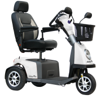 Scootmobiel Excel Galaxy Plus 3 Salt White