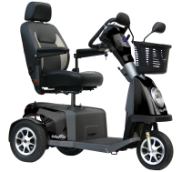 Scootmobiel Excel Galaxy Plus 3 Black