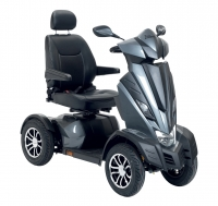 Scootmobiel Drive King Cobra kleur antraciet 15KM showroom model