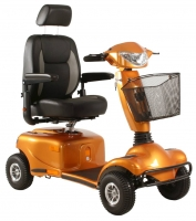 Scootmobiel Excel Entice 4 Gallardo Orange