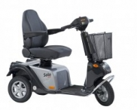 scootmobiel Life and Mobility Solo 3 zilver