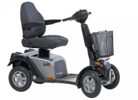Scootmobiel Life and Mobility Solo 4 wielen silver