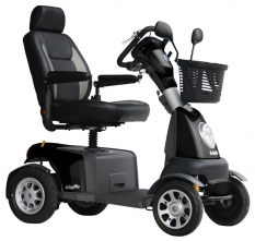 Scootmobiel Excel Galaxy Plus 4 Black