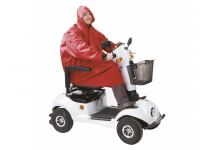 Rain jacket for scooter or rollator Drive
