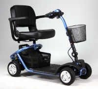 Travelux Zoom 4 scootmobiel Cooper Blue